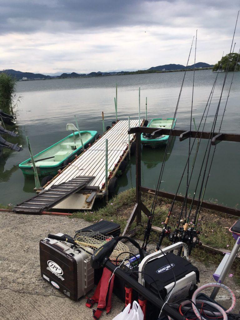 伊庭内湖のはずが。