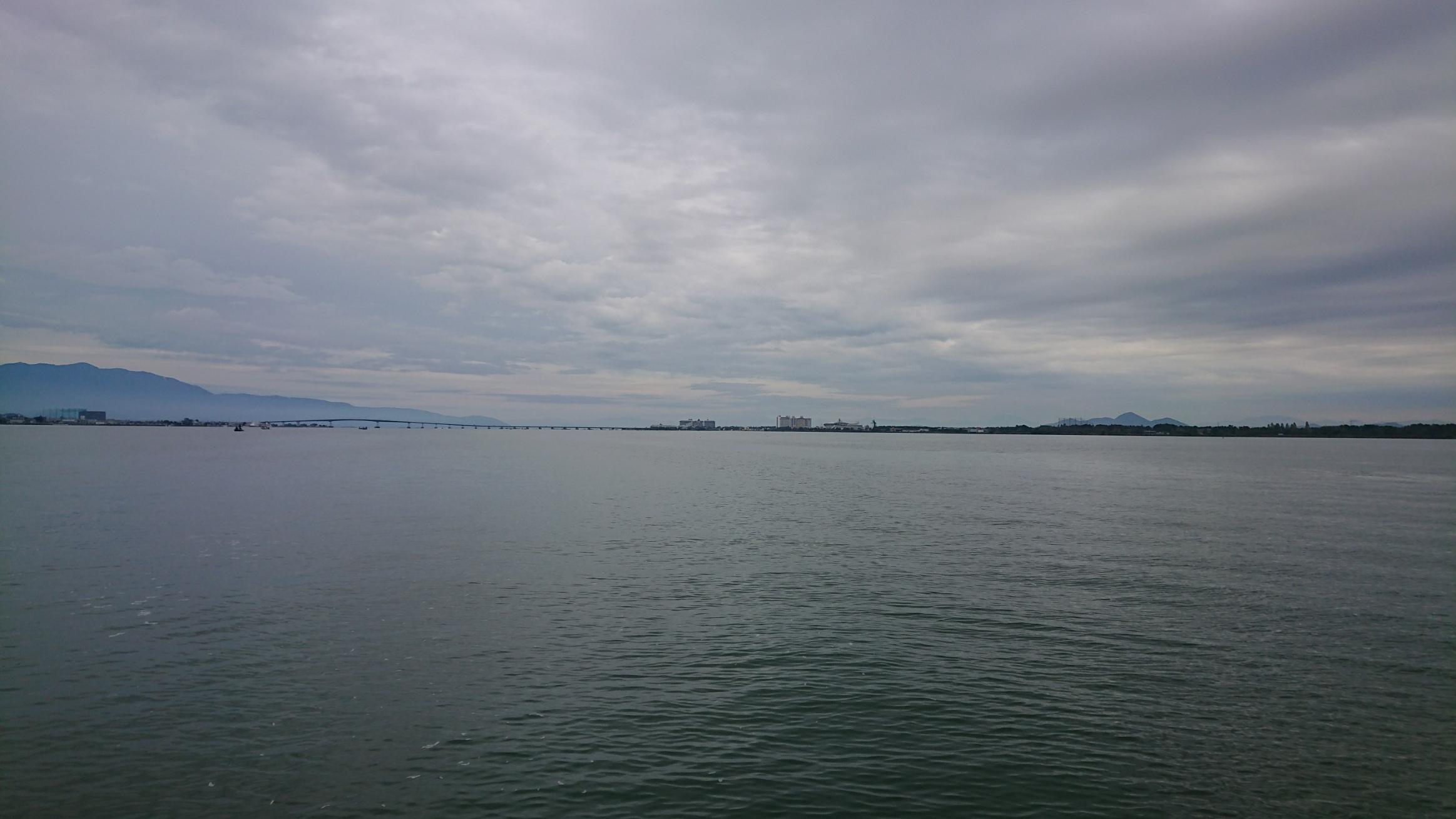 琵琶湖の濁りにはマグナムクランク!