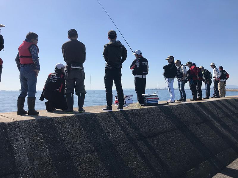 ウキフカセ釣り体験会