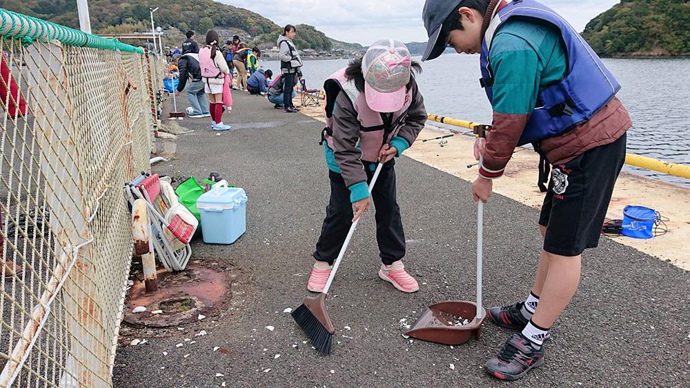 こども新聞企画 お手軽海釣り体験教室 in 佐助屋