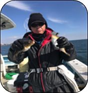 伊良湖沖のフグ