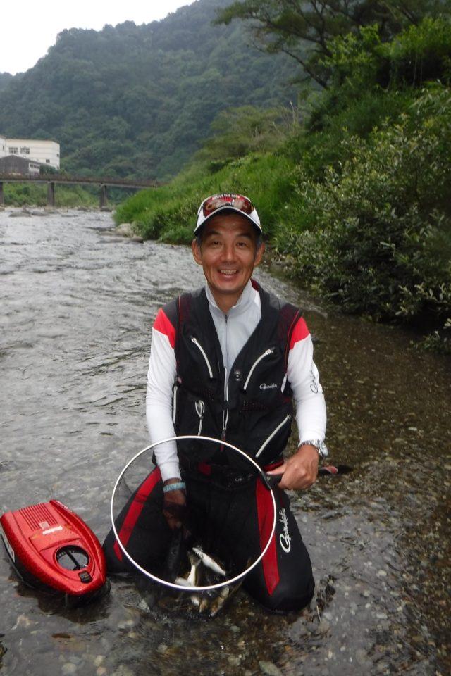 津川 釣り 情報 鮎 興