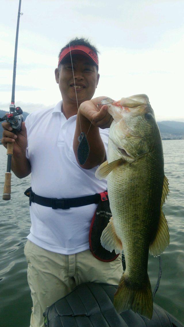 7月23日琵琶湖57cm