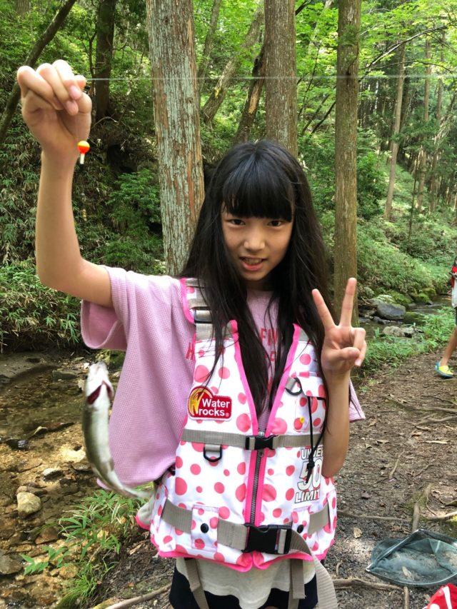 2マス釣り
