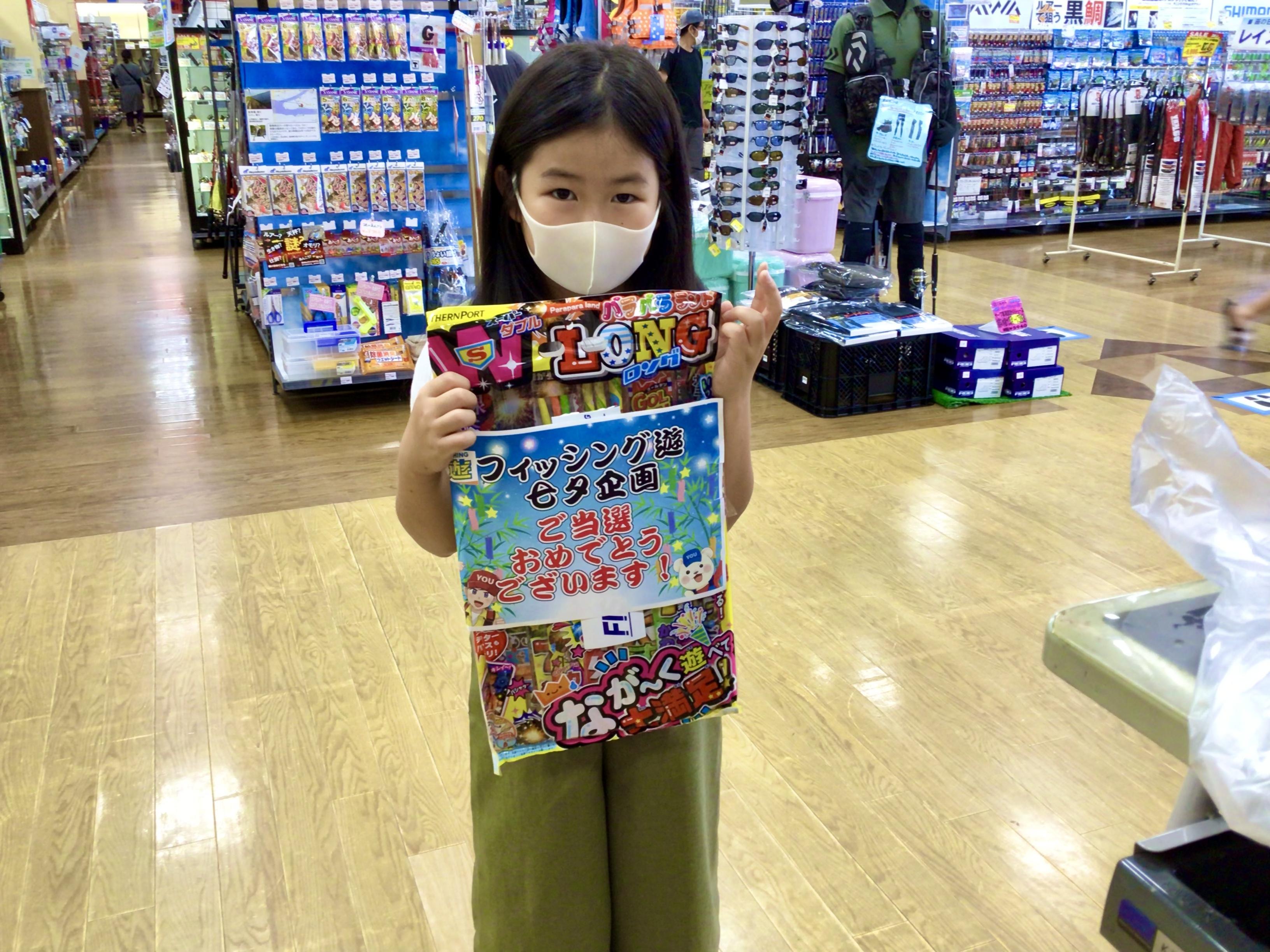 七夕インスタ企画!花火当選おめでとう!